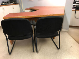 4 office desks for sale