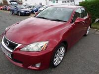 Lexus IS 220d 2.2TD SE 2009,SUPERB CONDITION. 49,000 MILES, 6 MONTH WARRANTY.