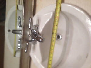 Free drop in sink and faucet