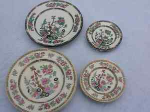 Indian Tree Vintage China plates England
