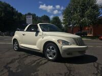 2005 Chrysler PT Cruiser AUCUNE ROUILLE** CLEAN** DÉCAPOTABLE!!!