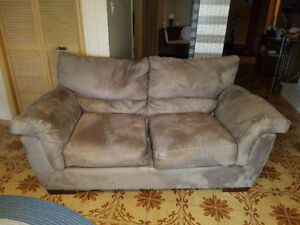 Free Matching 3 Piece Sofa, Love Seat and Chair