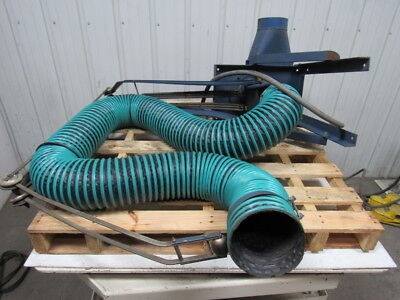 Torit 106 Dust Collector Trunkline Type 2 Hp 208-230440460v 3ph 6 Dia Hose