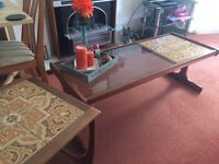 Vintage G Plan Coffee Table and Side Tables