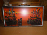 Pirate Ship Framed Pictures