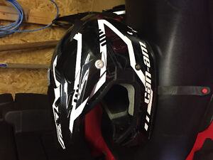 CAN AM HELMET XXL ONE YEAR OLD