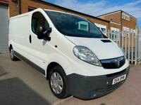 2014 14 Vauxhall Vivaro 2.0 CDTI LWB 115PS L2 H1 5 Door White Diesel Van NO VAT