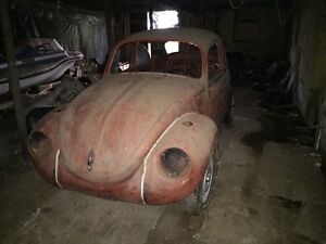 1971 VW Super Beetle and parts