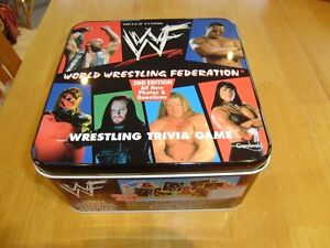 WWF TRIVIA GAME 2ND EDITION 1999