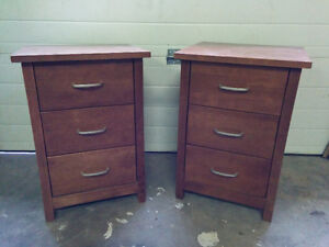 Pair of Night Stands - Delivery Available