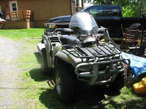 2002 Bomb. 650 Quest ATV for sale