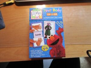 ELMO WORLD - SESAME STREET - FLASH CARDS - NEW!!!!
