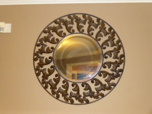Wrought Iron Decorative Mirror