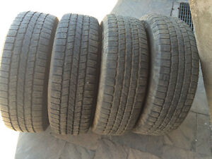 4 PNEUS / 4 ALL SEASON TIRES 265/70/17 GOODYEAR WRANGLER