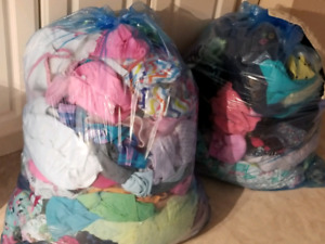 Full 6-12 month girls wardrobe