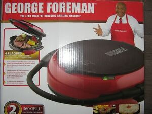 George Foreman Grill 360 4 plaques