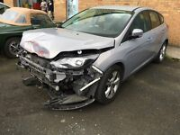 Ford Focus Damaged, low Miles, auto, salvage, 2012
