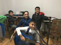 Learn guitar &keyboard lesson Bollywood Hollywood 6473827477