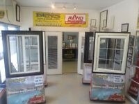SALE ON WINDOWS AND ENTRANCE DOORS