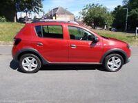 Dacia Sandero STEPWAY LAUREATE TCE (red) 2014