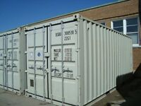 One trip Storage Containers in Excellent Condition