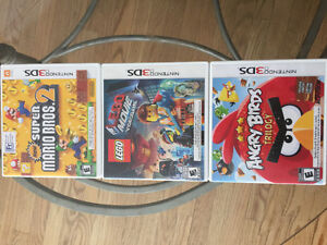 $45.00  3 -3DS games