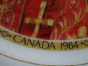 Pope John Paul II souvenir plate from 1984 papal visit to Canada Cornwall Ontario image 7