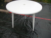 table, exterior or interior use...removable legs...FRANCE
