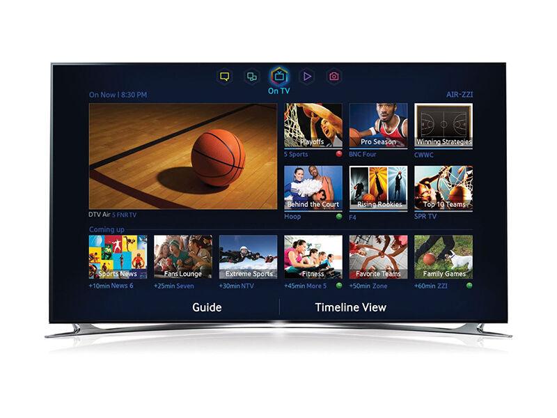 Samsung Series 8 Quad Core 3D Flat Screen TV