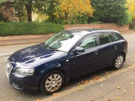2006 AUDI A3 TDI ++ ALLOY WHEELS ++ REMOTE LOCKING ++ CD ++ SEPTEMBER MOT.