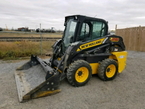New Holland skidsteer L 218 very low hours