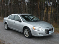 Low mileage - 81,000 km --  2004 Chrysler Sebring LXi Sedan