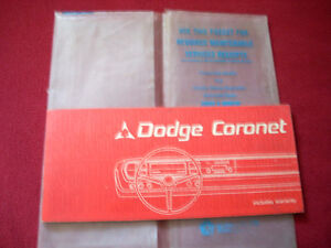 1967 Dodge Coronet owner's guide Peterborough Peterborough Area image 1
