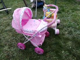Children's buggy & pram toys for free