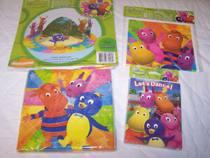 Backyardigans Birthday Party Items