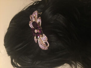 New Rhinestone hair clips