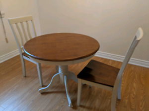 Bistro Dining Table with Chairs