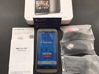 Brand new unlocked sim free HTC One M8 sealed box with full new accessories