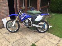 YZ250 Motor Cross Bike