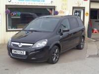 Vauxhall/Opel Zafira Exclusiv 1.8i 16v VVT ( 140ps ) 2014 27K