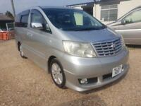 TOYOTA ALPHARD CAMPERVAN WITH REAR CONVERSION AND ELECTRICS & TOWBAR