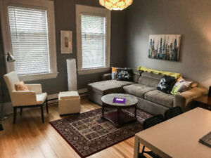 Downtown short term furnished- 1 bedroom