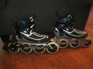 K2 rollerblades 100mm wheels size 8