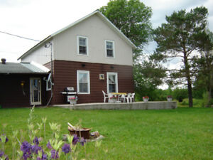 Vacation Rental Lake Kagawong Manitoulin Island