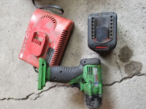 Impact batterie snap on 3/8