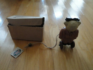 Cottage Collectibles wooden teddy statue figurine New in box London Ontario image 5