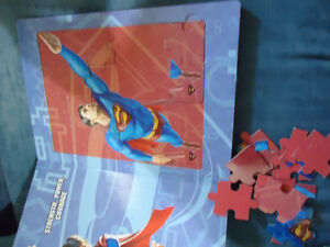 Superman Returns Jigsaw Book Has 5 Puzzles INSIDE!! Kingston Kingston Area image 5