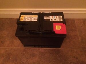 AGM AcDelco battery 700cca