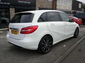 2014 Mercedes-Benz B180 1.5CDI 109bhp Sport 5DR 14 REG Diesel White