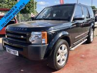 2007 LAND ROVER DISCOVERY 3 GS 2.7 TDV6 AUTO SERVICE HISTORY 7 SEATER LONG MOT